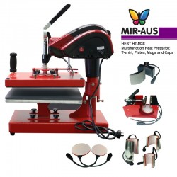 heat press Hest HT-M38 8-in-1 Multi-functional 38x38cm