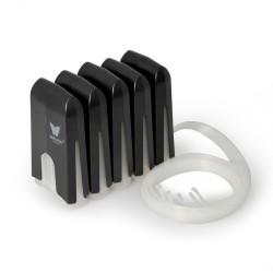 Tangki CISS kosong untuk 5 warna printer
