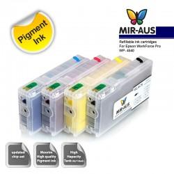 Genopfyldelige blækpatroner til Epson arbejdsstyrke Pro WP-4540