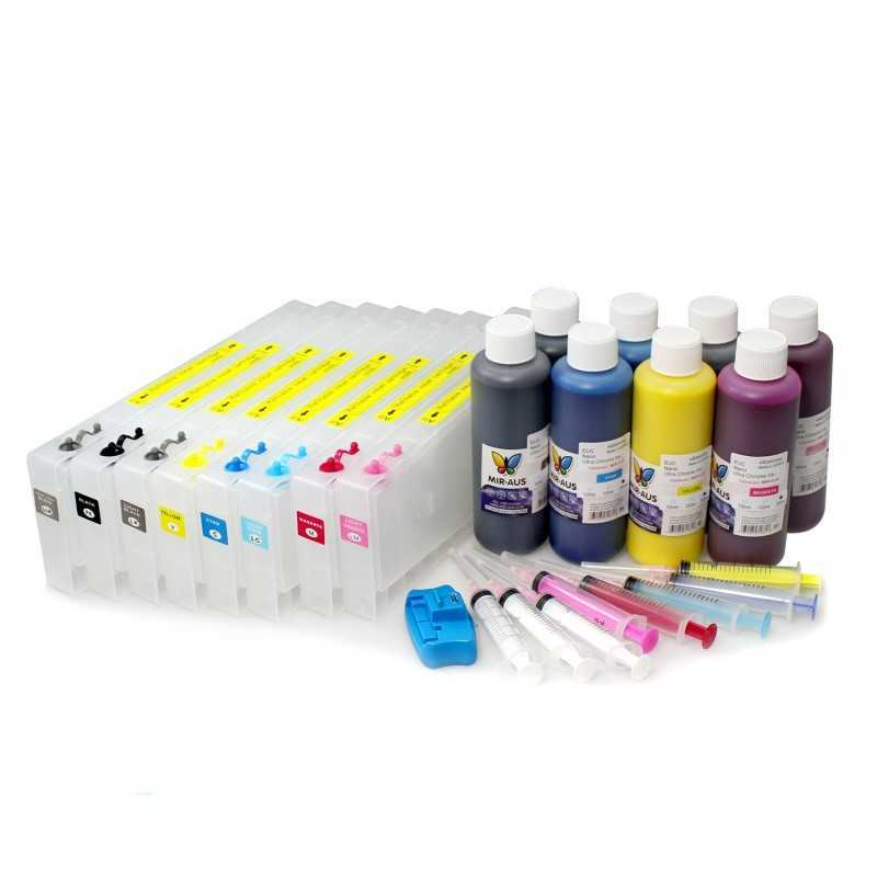 Refillable cartridges for Stylus Epson Pro 4800