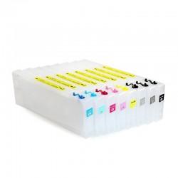 Cartouches rechargeables pour Stylus Epson Pro 4000