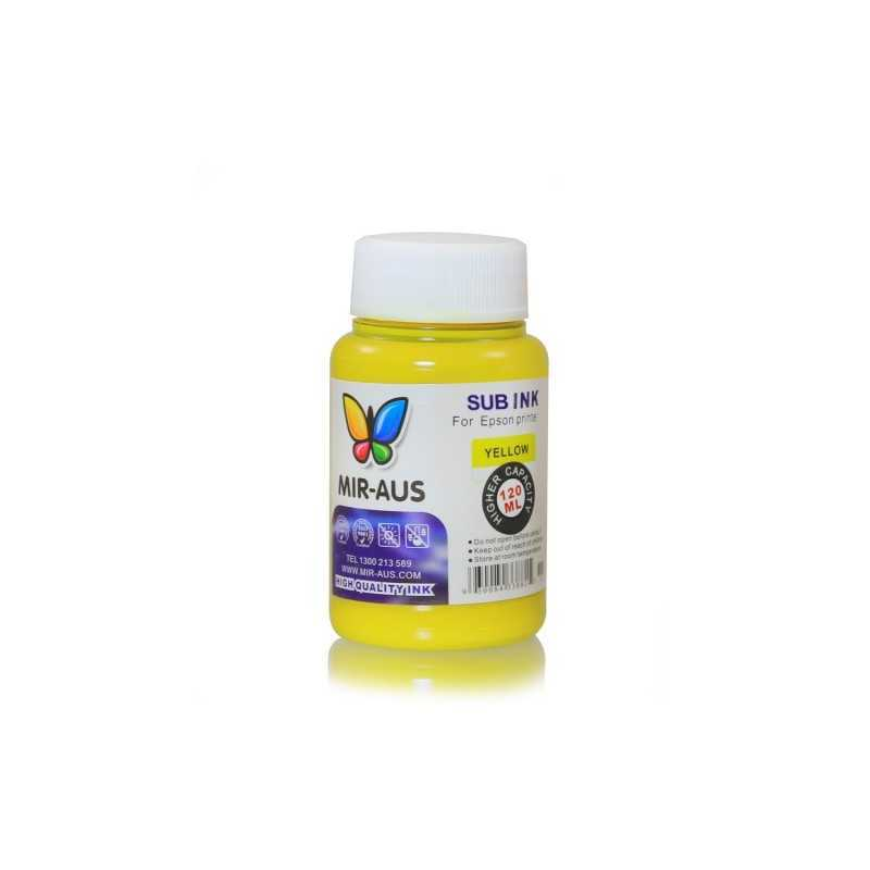 120 ml Yellow sublimation ink
