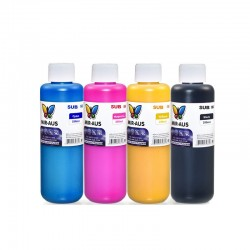 4 x 250ml CMYK sublimation ink