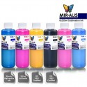 6 x 250ml CMYK/LC/LM sublimation ink