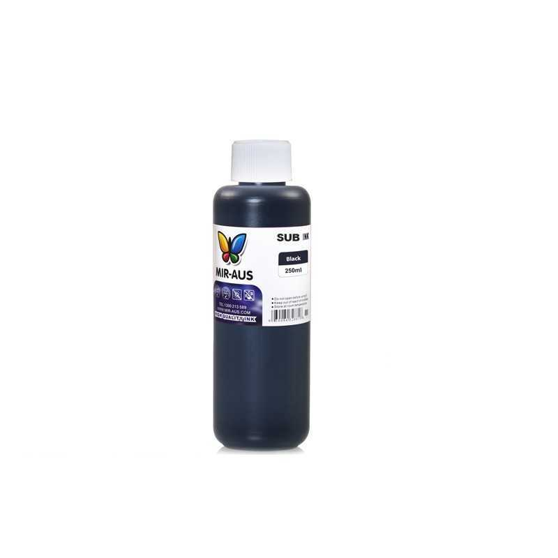 250 ml Black sublimation ink