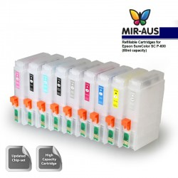 Refillable ink cartridge use for EPSON R3000