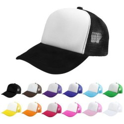 Adulti Plain Trucker Caps - Cappelli