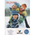 A4 260 G Premium hög glansigt Wove fotopapper för bläckstråleskrivare