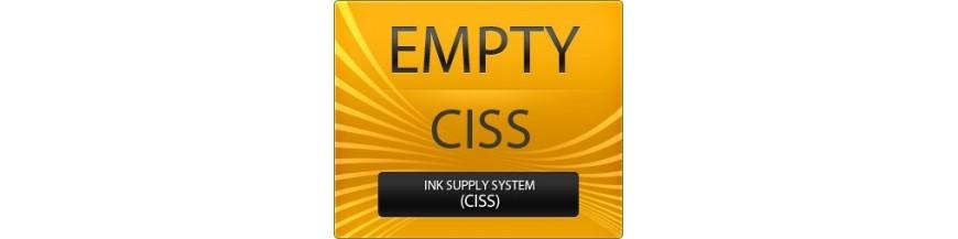 принтер Epson с СНПЧ пустые