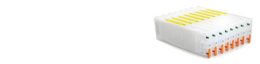 استخدام الخراطيش القابلة لإعادة الملء أبسون 9880 برو