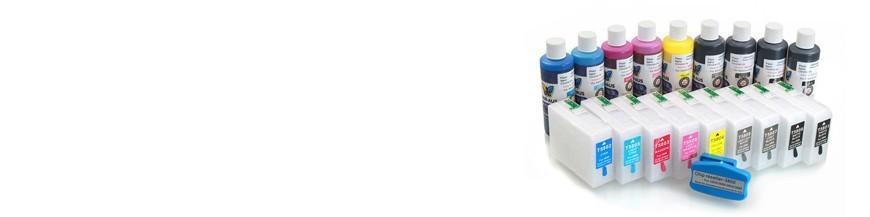 costumes de cartouches rechargeables Epson Pro 3800