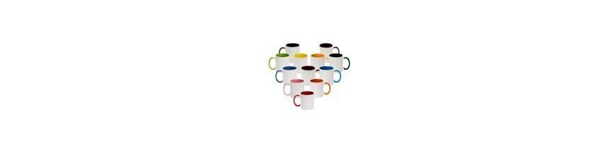 Tasses en céramique - couleur intérieure