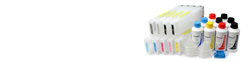Cartuchos recarregáveis para Epson Stylus