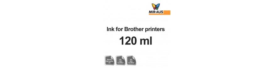 120 мл бутылки многоразового чернил для принтеров Brother