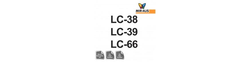 Код картриджа 100 мл многоразового чернил: lc-38, lc39 и lc-66