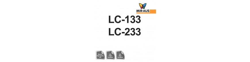 Codice cartuccia di inchiostro riutilizzabile 100ml: lc-33 e 233