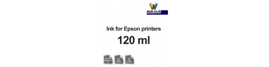 زجاجة 120 مل الحبر القابلة لإعادة الملء لطابعات Epson
