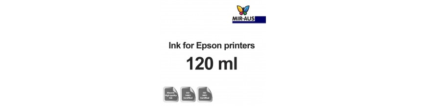 Refillable ink 120 ml bottle for Epson printers