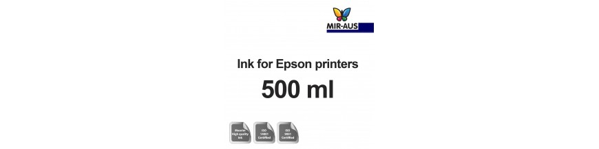 Refillable ink 500 ml bottle for Epson printers