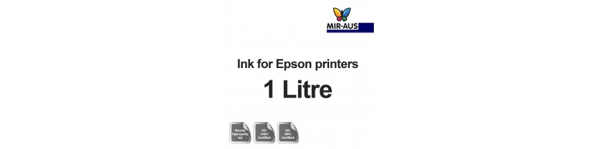 Påfyllningsbara bläck 1 liters flaska för Epson-skrivare
