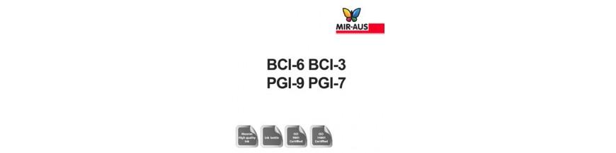 Genopfyldelige blæk 1 liter patron kode: BCI-6 BCI-3 BGB-9 BGB-7
