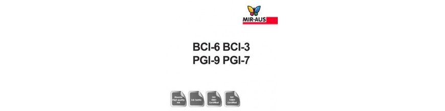 Code de cartouche d'encre rechargeables 1 litre : BCI-6 BCI-3 IGP-9 PGI-7