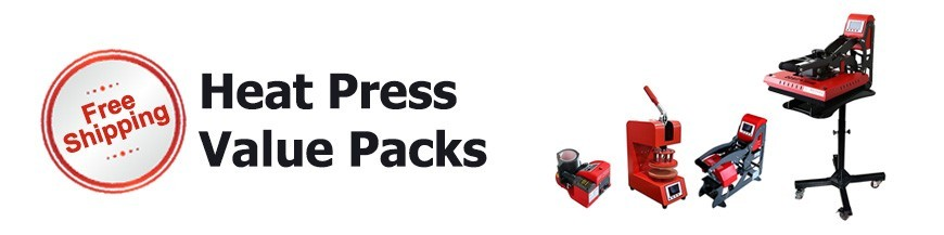 Heat press value pack in Australia