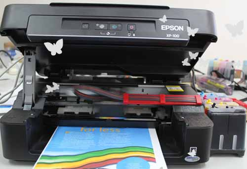 Ciss Installation For Epson Xp 100 200 300 400 Wf2530