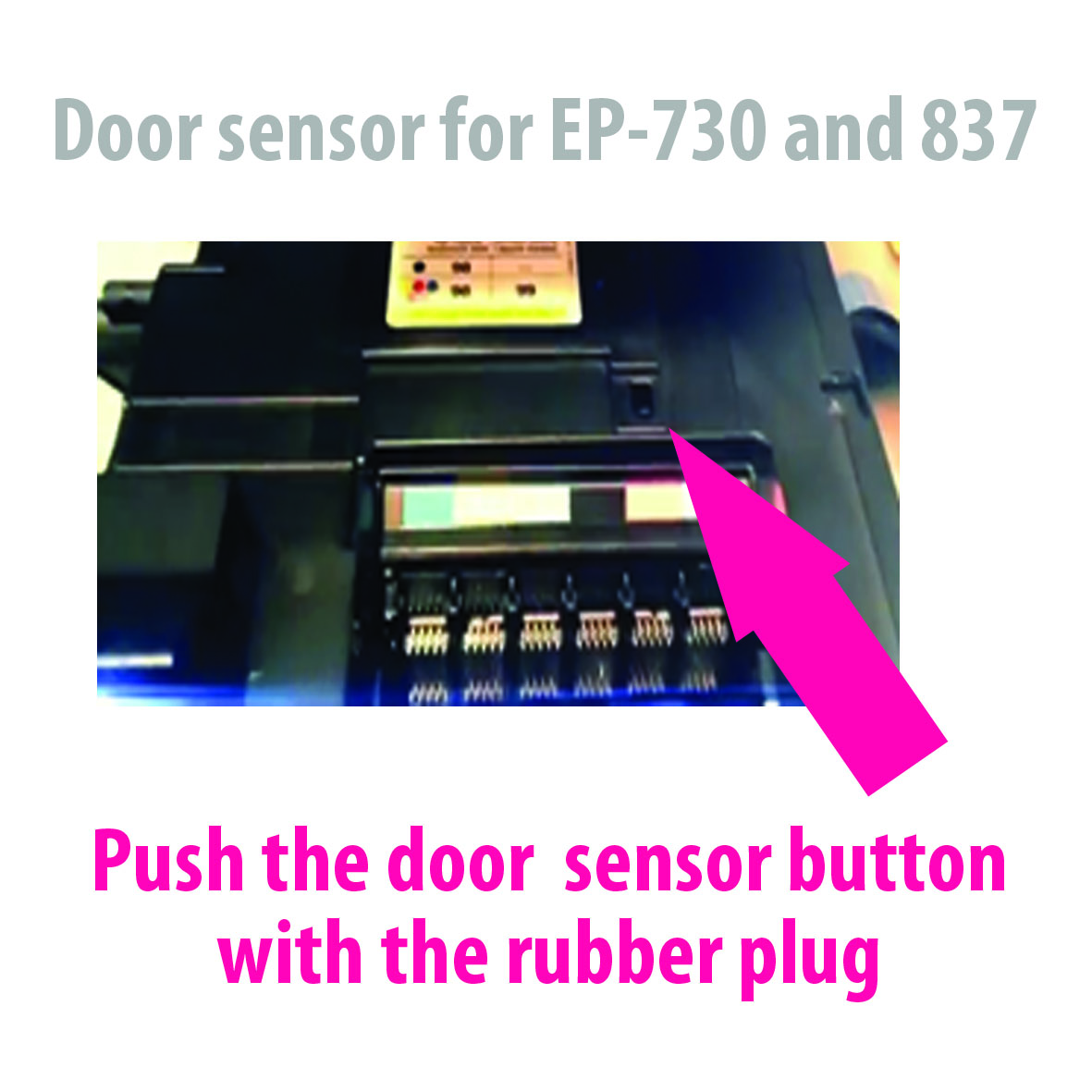 Door sensor for EP-730 and 837
