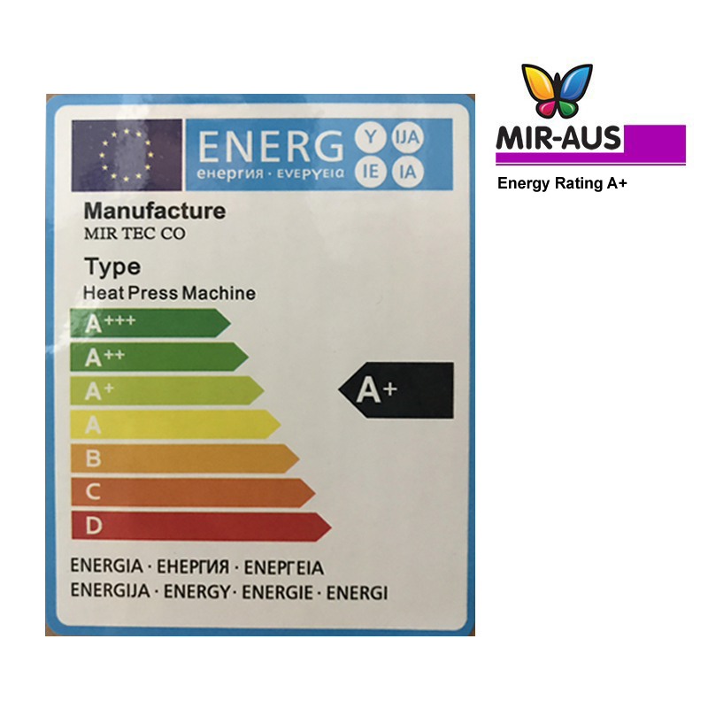 mir heat press energy rating