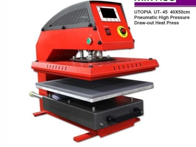 UTOPIA UT-45 Pneumatic Heat Press MIR-PRESS
